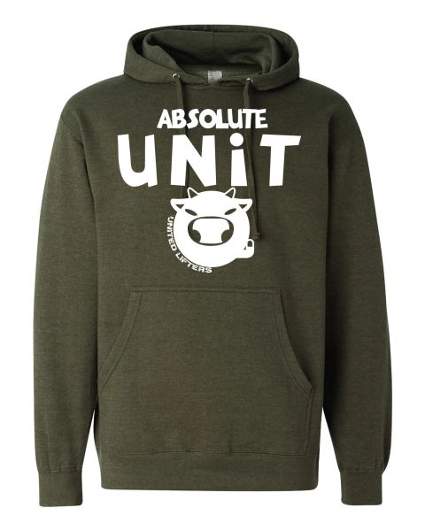 UL - Unisex Hoodie MILITARY GREEN - ABSOLUTE UNIT