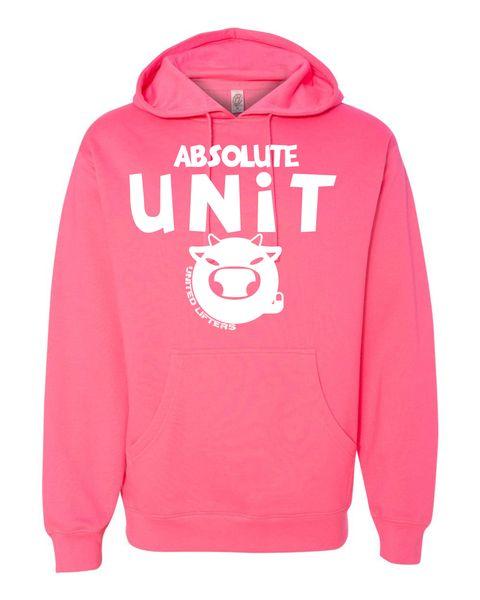 UL - Unisex Hoodie PINK - ABSOLUTE UNIT