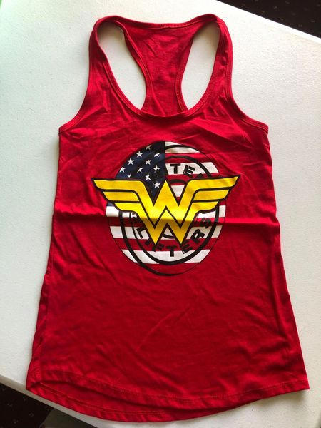 UL - Wonder Lifter - Ladies Racerback Tank