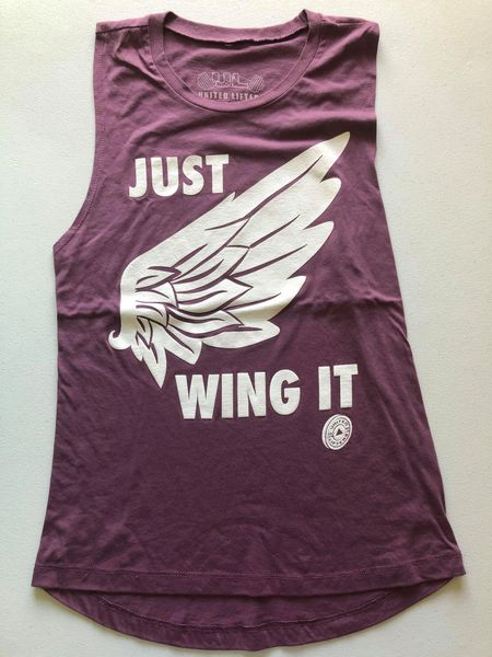 UL - JUST WING IT - Ladies Muscle Tank Flowy