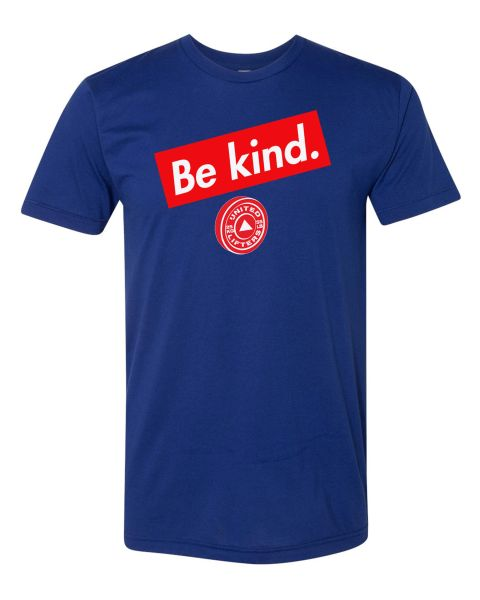 UL - Be Kind - Unisex Tee Blue