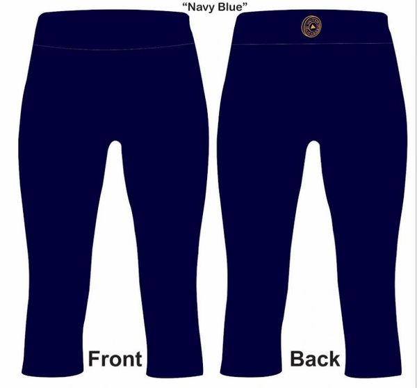 UL - FULL LEGGINGS - NAVY WITH POCKETS