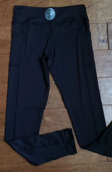 UL - FULL LEGGINGS - BLACK WITH POCKETS