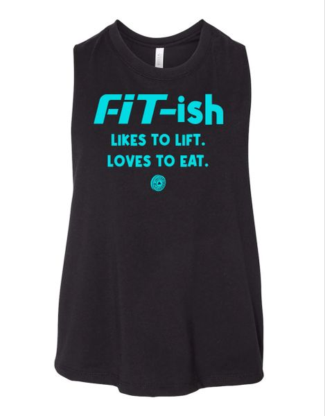 UL - FIT ISH - Ladies Crop Racerback Tank