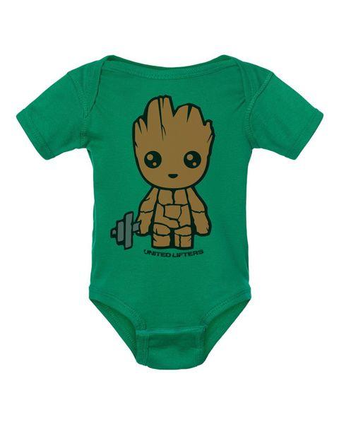 UL - BABY SINGLET - BABY GREWT -GREEN