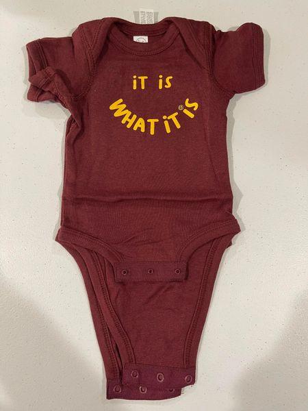 UL - IT IS WHAT IT IS - Baby Singlet