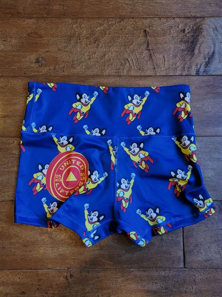 UL - PO - MOUSE - HIGH WAIST - Ladies Active Shorts