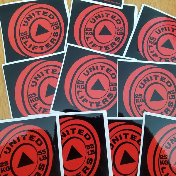 UL - Red Plate - Vinyl Sticker