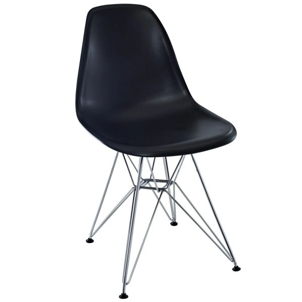 Eiffel Side Chair-Black