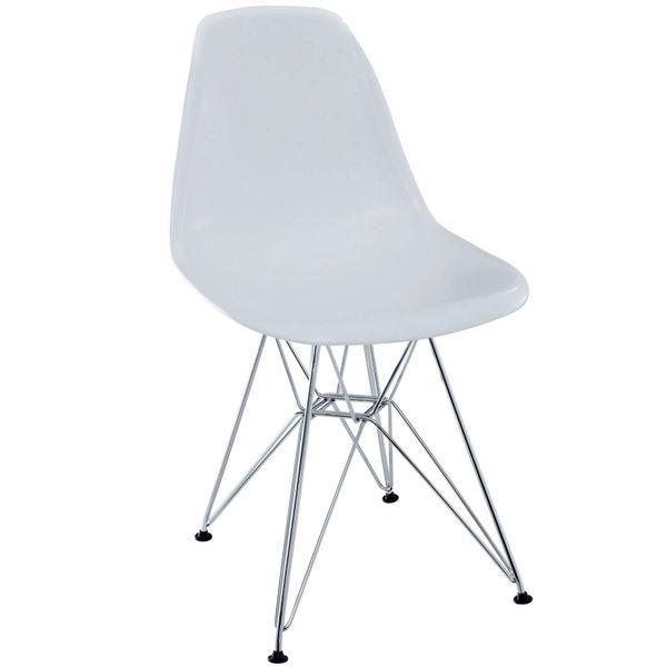 Eiffel Side Chair-White