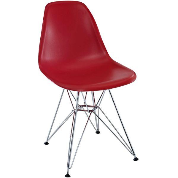 Eiffel Side Chair-Red