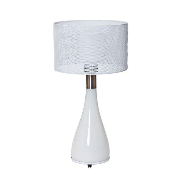 Menken Mushroom Table Lamp-White