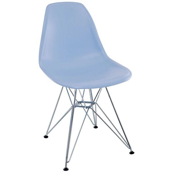 Eiffel Side Chair-Blue