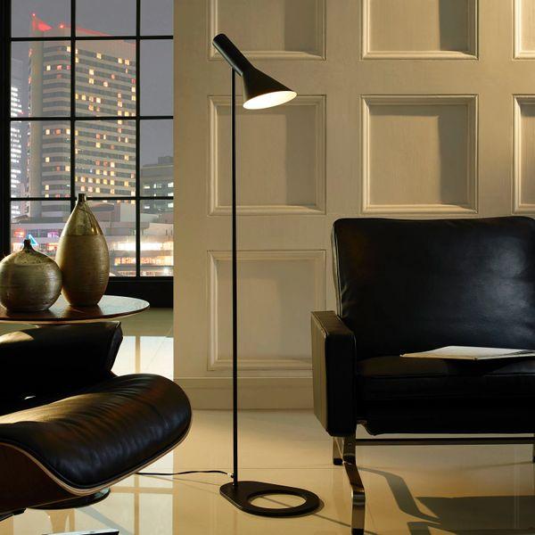 Ted Floor Lamp-Black