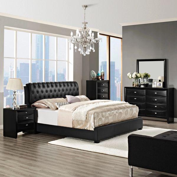 Francesca 5 Piece King Bedroom Set