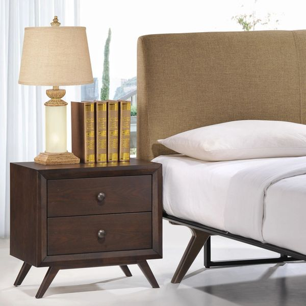 Stacy Nightstand - Cappuccino
