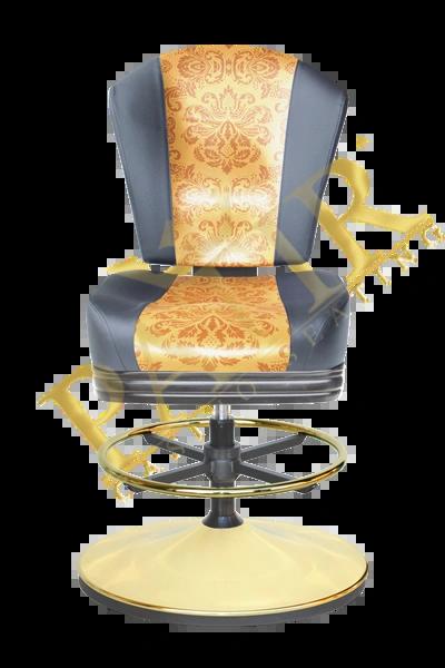 MFP Chair w/ wheels - black/Fauna/black