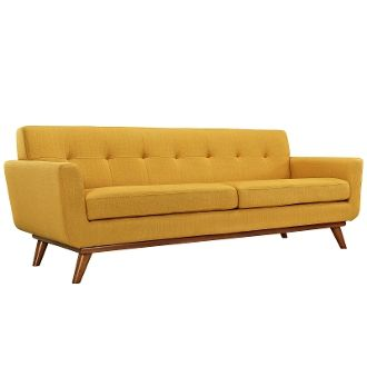 "Finn Juhl Style Sofa-Citrus-90"""