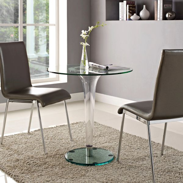 """Harris Glass Dining Table-28"""""""