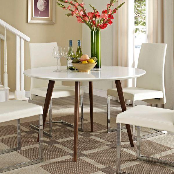 "Harris Fiberboard Round Dining Table - 47"""