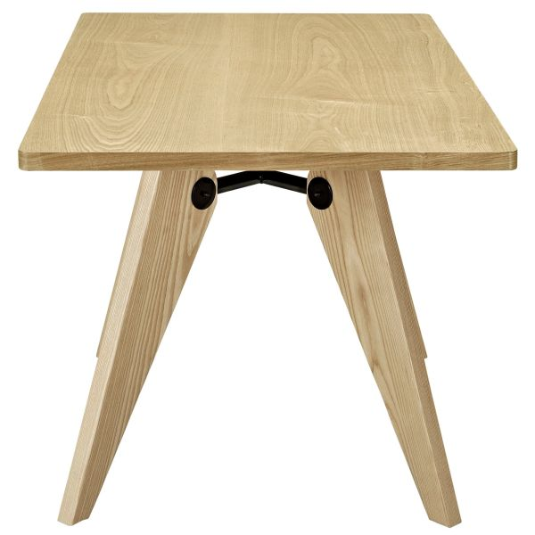 Kinsey Rectangular Wood Dining Table - Natural