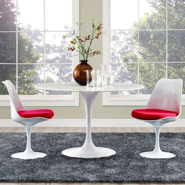 """Saarinen Style Tulip Dining Table - 40"""""""