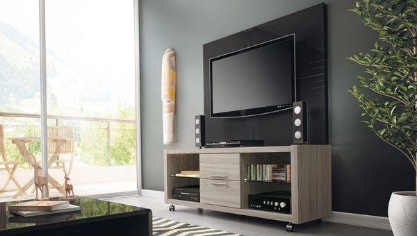 TV Stand 13923 Nature White + Claremont