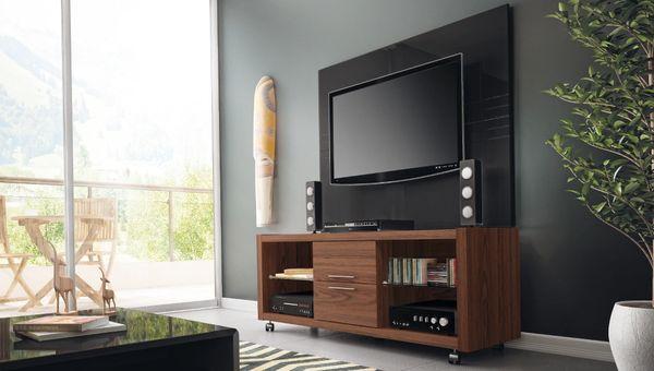 TV Stand 13925 Mocha + Claremont 1.3 Panel