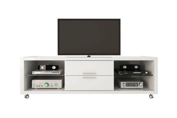 TV Stand 1.0 - White Gloss - 15284