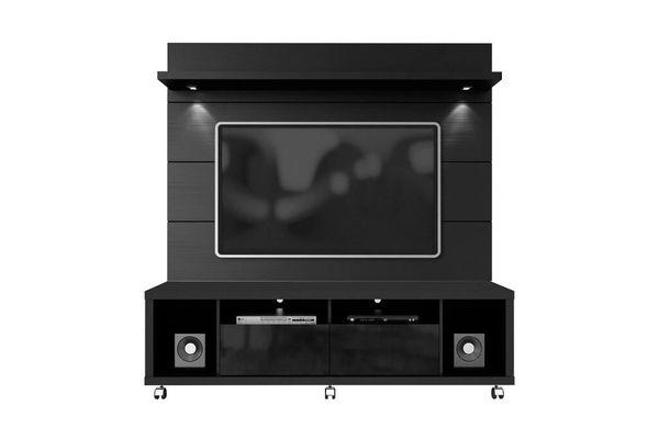 TV Stand 15413 + 82253 Malibu 1.8 Black