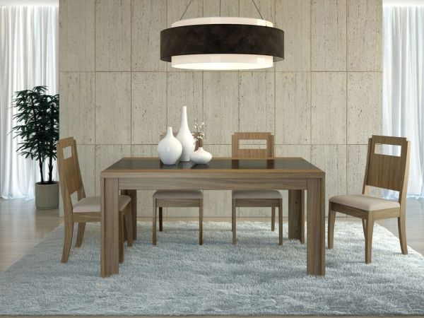 """Eastern Dining Table - 63"""""""