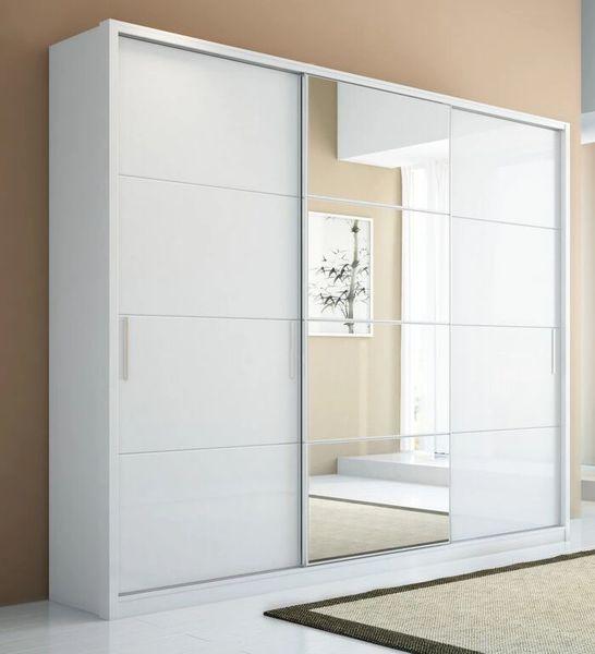Bellevue 3 - Doors Wardrobes - White Gloss