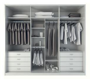 Noho Wardrobe - White Gloss