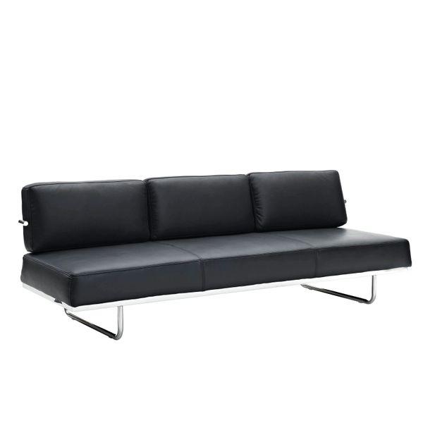 Oliver Convertible Sofa - Black
