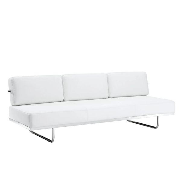 Oliver Convertible Sofa - White