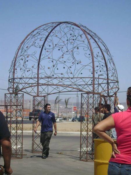 Custom Steel Domes