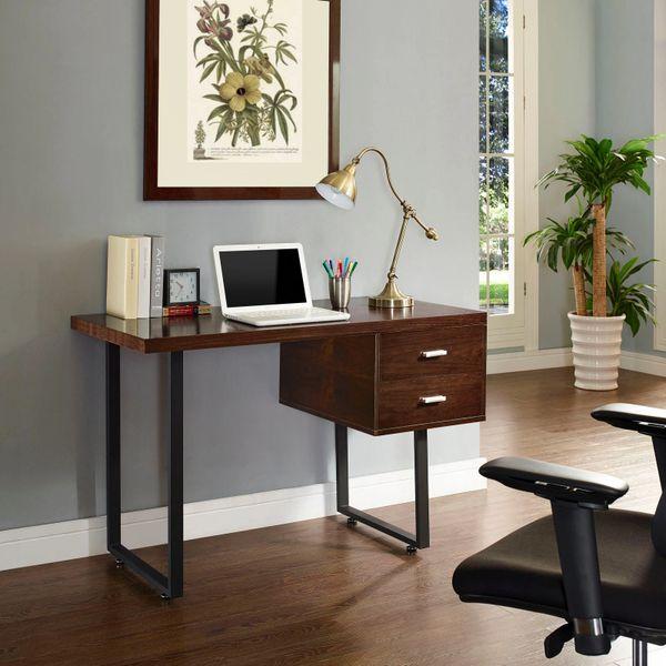 Beaver Office Desk - Walnut