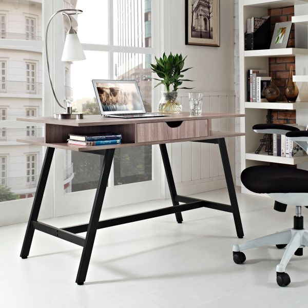 Darrin Desk - Light Brown