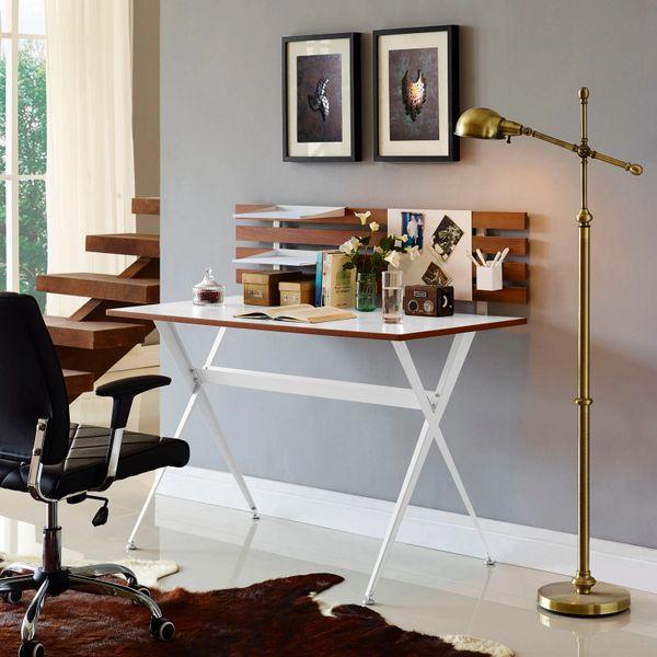 Darrin Office Desk - Wood - White