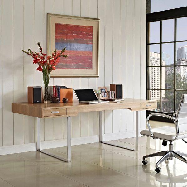 Sergeant Carter Office Desk - Natural