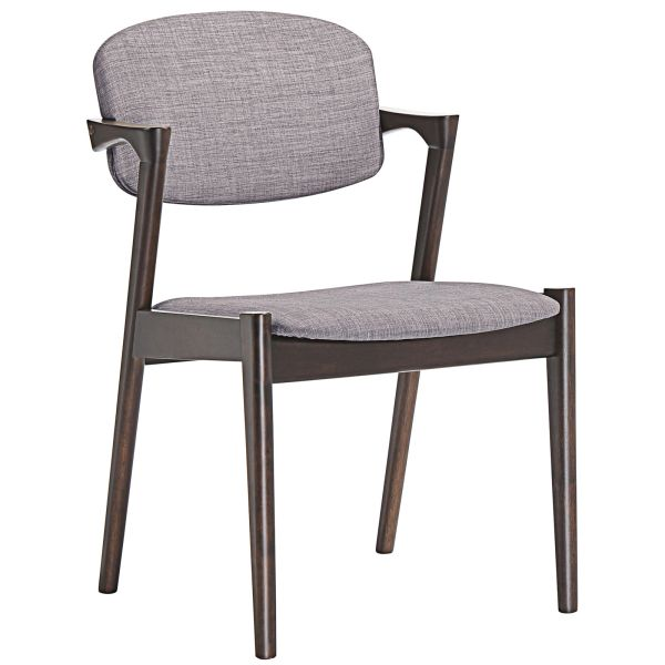 Armless Dining Side Chair Z - Gray