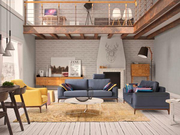 T1D Cloud Living Room Set - CO25