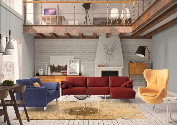 T1D Mimosa Living Room Set - CO31