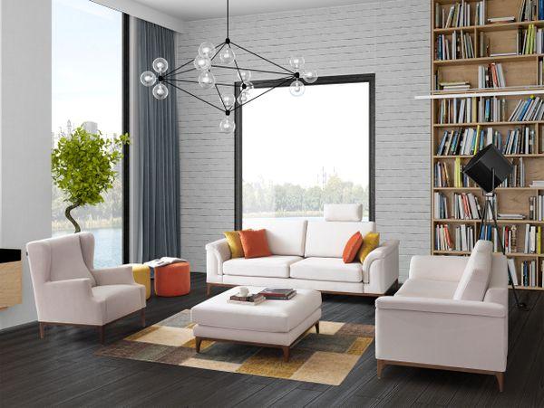 T1D San Francisco Series Living Room Set - CO34