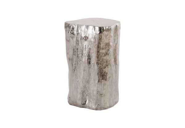 Log Stool Liquid Silver, SM
