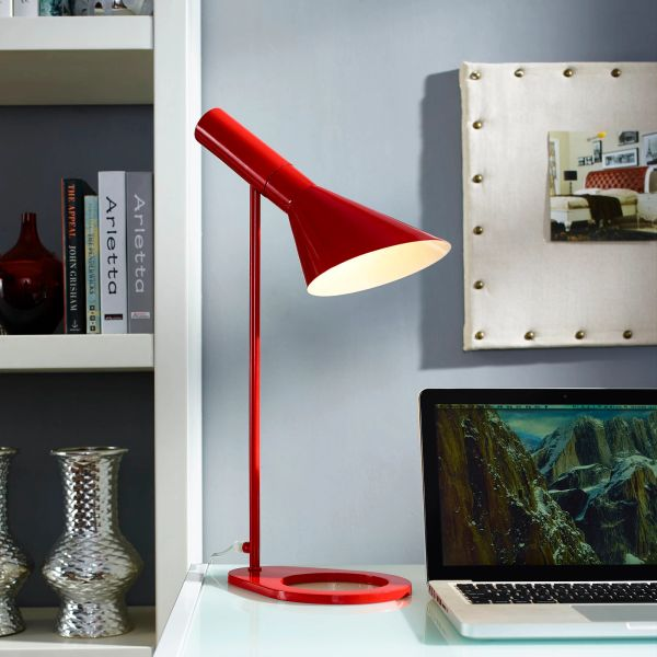 Ted Desk Lamp-Red