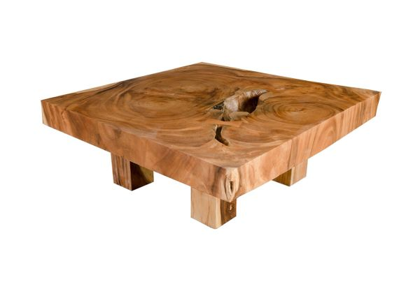 T1D Chamcha Slice Coffee Table Square - P
