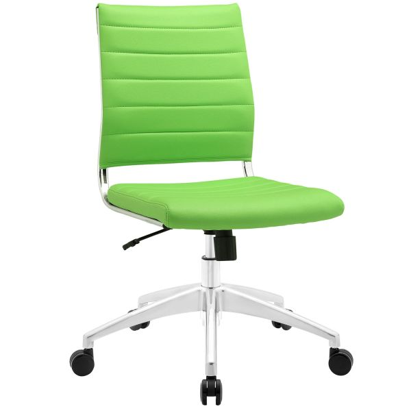 Armless Midback Office Chair - Green