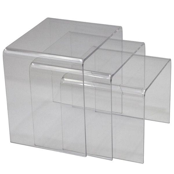 Casper Clear Nesting Table