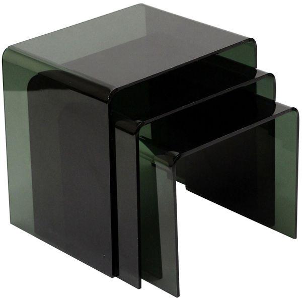Casper Black Nesting Table